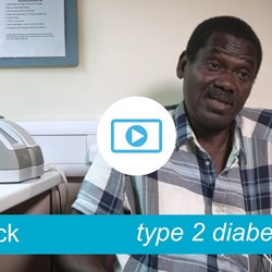 Image for Patrick - type 2 diabetes, walks his way to better health