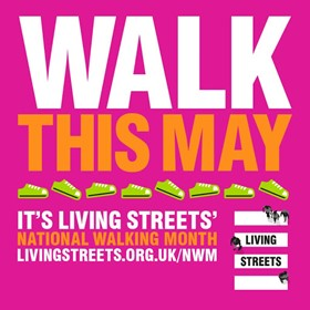 Image for May is National Walking Month